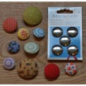 Cover Buttons - 22mm