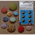Cover Buttons - 15mm