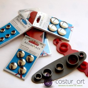 Cover Buttons - 29mm