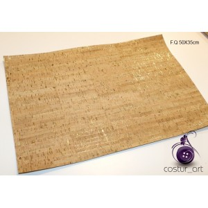 "Corck Fabric ""Golden Elements"""