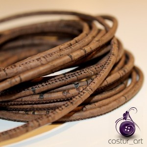 Cork Yarn 3mm - Purple