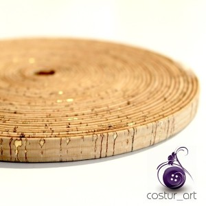 10mm Cork Strip - Natural