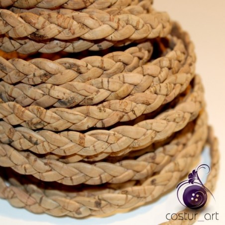 6MM TWISTED CORK STRIPS
