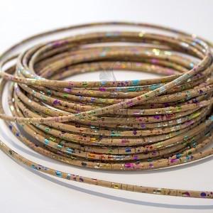 Cork Yarn 3mm - Multicolor