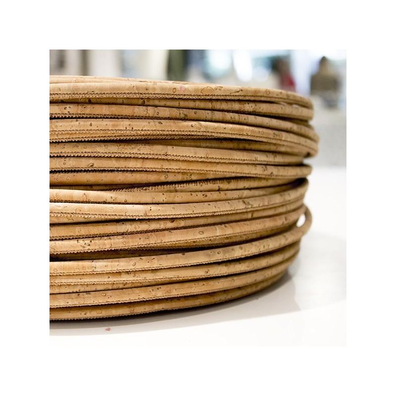 Cork Yarn 5mm - Natural