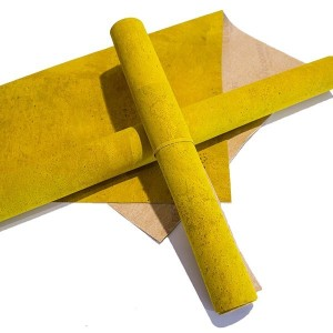 "Tecido de Cortiça ""Yellow"""