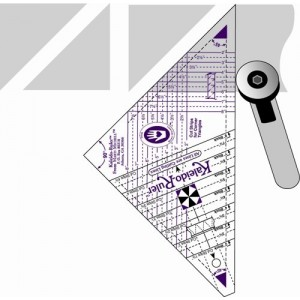 """Marti Michell"" Kaleidoscope Ruler 2-8"