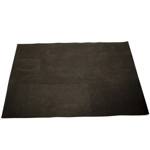 "Cork Fabric ""Dyed Black"""