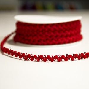 Galão de Seda - Vermelho