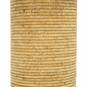 "Cork Cord 3mm - Natural ""TILES"""