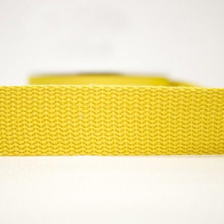 Percinta 100% Algodão 30mm - Amarelo