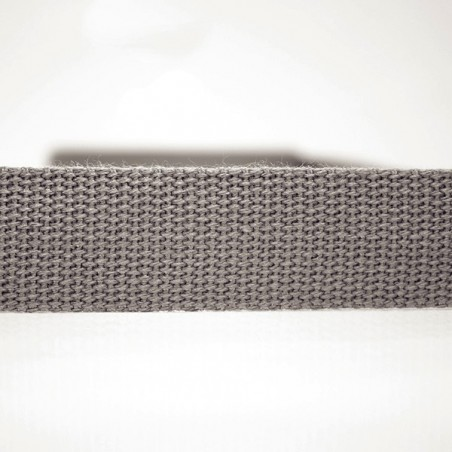 Percinta 100% Algodão 30mm - Cinza Escuro