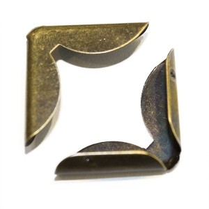 Canto Bronze  20*20mm