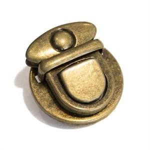 Fechos Metálicos Bronze Diâmetro 30mm