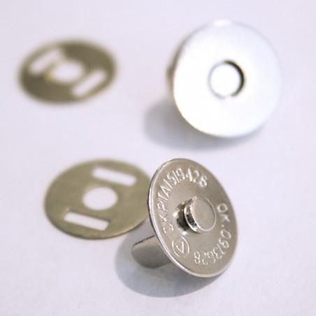 Iman Metal - Prata 18 mm
