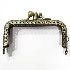 Fecho Metálico Duplo 8,5 cm