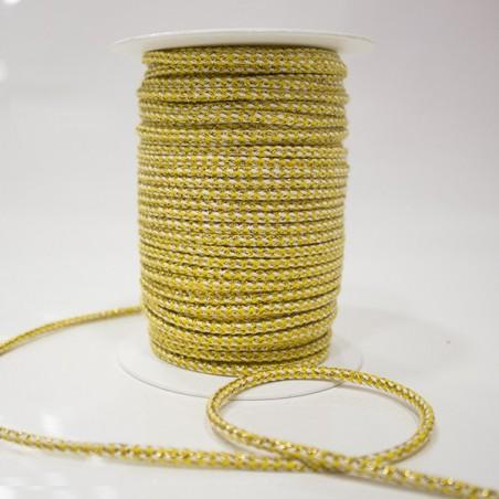Cordão Seda com Ouro