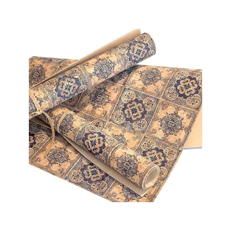 "Corck Fabric ""Azulejo Português"""