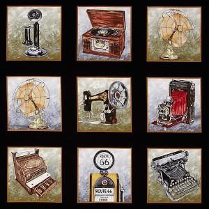 Vintage Gadgets - Painel 60x110cm