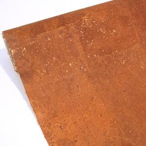 "Cork Fabric ""Dyed Light Cinnamon"""