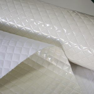 Padded Plasticized Fabric