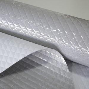 Tecido Piquet Liso - Plastificado e Acolchoado - Bege