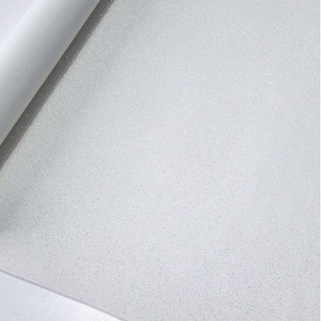 Micro Glitter - Branco